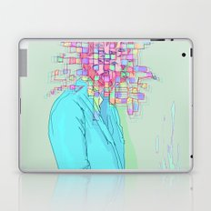 Psychedelic face Laptop & iPad Skin