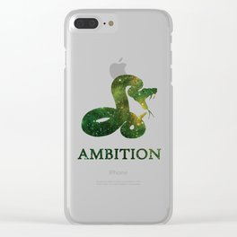 AMBITION Clear iPhone Case