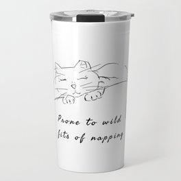 Wild cat naps Travel Mug