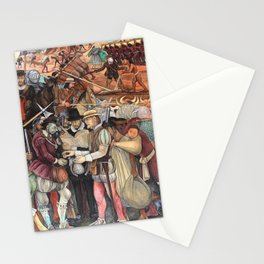 Mural by Diego Rivera Stationery Cards