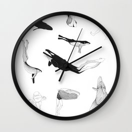 The Tribe Wall Clock
