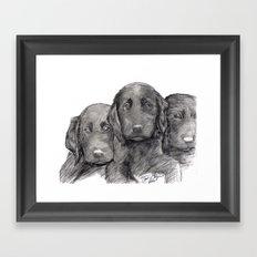 Black and White 10 Framed Art Print