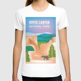 Bryce Canyon National Park, Utah - Skyline Illustration by Loose Petals T-shirt