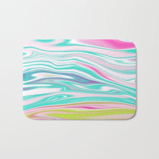 Iridescent Marble 12 Bath Mat