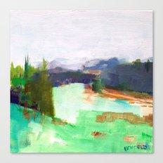 Near Vail CO, Gore Range Canvas Print