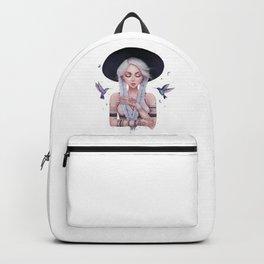 Bohemian girl Backpack