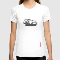 porsche T-shirts featuring Porsche 356 by Remove Before . . .