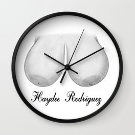 Haydee Rodriguez Wall Clock