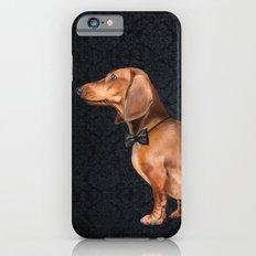 Elegant dachshund. iPhone 6 Slim Case