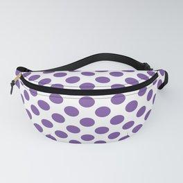 Purple Polka Dots Fanny Pack