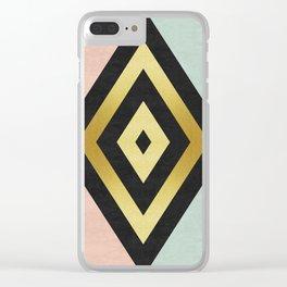 Fashion diamond Clear iPhone Case
