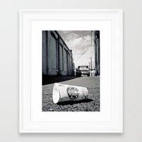 starbucks Framed Art Prints featuring Starbucks dream by Vorona Photography
