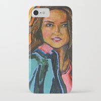 ripley iPhone & iPod Cases featuring Ms. Virginia Ripley by Craig Mertens