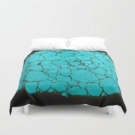 turquoise 2 Duvet Cover