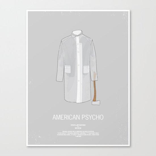Dress The Part - American Psycho Canvas Print