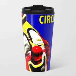Ringling Bros. Barnum and Bailey Vintage Circus Clown Print Travel Mug
