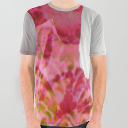 Innocent in neon pink All Over Graphic Tee
