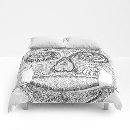 Sugar Skull 2.0 Comforters