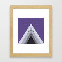 Iglu Ultra Violet Framed Art Print