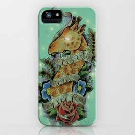 Respect iPhone Case