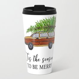Tis the season to be merry Travel Mug