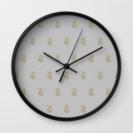 6 God - Heather Wall Clock
