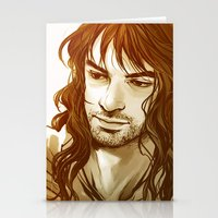 kili Stationery Cards featuring Kili by lorna-ka