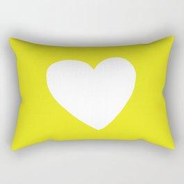 Sunshine Heart Rectangular Pillow