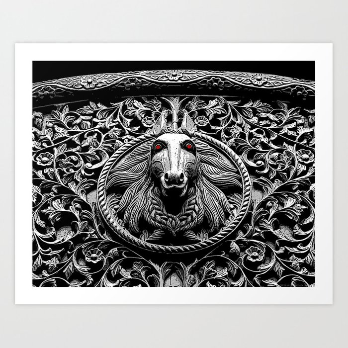 """Eyes on Camden"" Art Print"