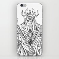 skyrim iPhone & iPod Skins featuring skyrim dragonborn miraak by  Steve Wade ( Swade)