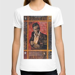 Red Johnny Cash T-shirt