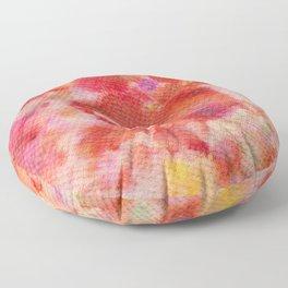 Abstract No. 685 Floor Pillow