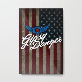 Gipsy Danger Metal Print