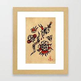 Las Calakas  Framed Art Print