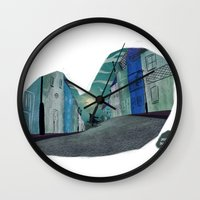 werewolf Wall Clocks featuring Werewolf by David Pavon