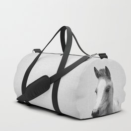 Baby Horse - Black & White Duffle Bag