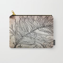 Palm Flower on Earth Day Carry-All Pouch