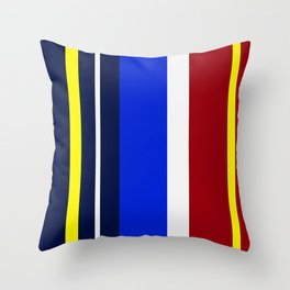 Rhythm of Colors Throw Pillow