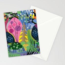 Pink Pyramids Stationery Cards