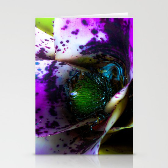 Microcosm in the flower  Stationery Cards