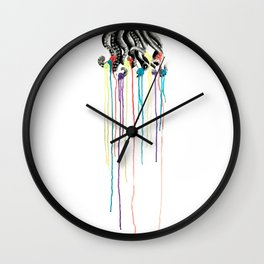 Pseudomorph This! Wall Clock