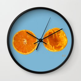 Mi media naranga / My better half Wall Clock