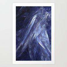 Gossamer Blue Art Print