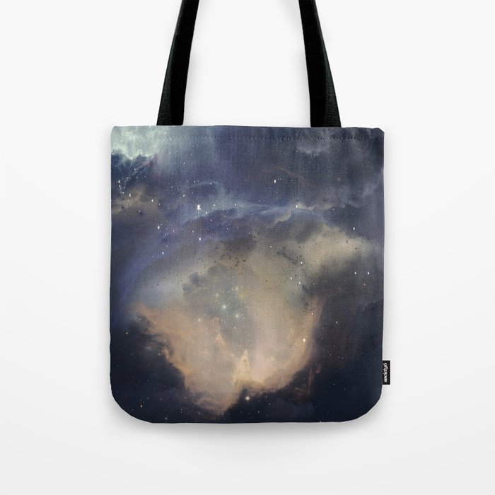 GOLD NEBULA Tote Bag