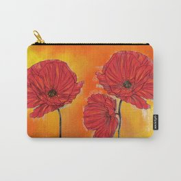 Poppy Variation 7 Carry-All Pouch