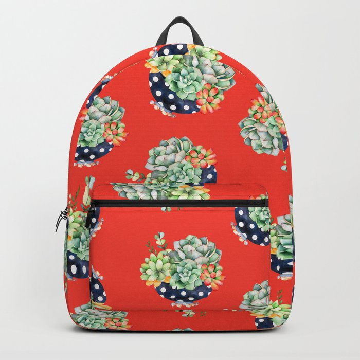 Plant Cactus Backpack