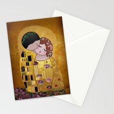 Kokeshi The Kiss Stationery Cards