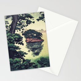 Autumn Rain in Yama Stationery Cards