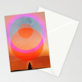 new moon musing Stationery Cards