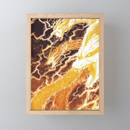 Thunder Framed Mini Art Print